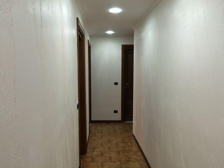 Corridoio realizzato con...ISTINTO