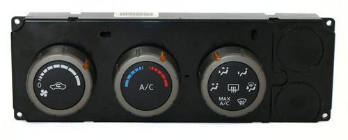 Nissan Titan 2006 OEM Climate Temperature Controls - Part Number 27500-ZH400