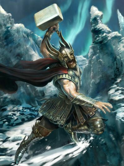 Asatru Norse Mythology Thor Vikings Warriors Ox