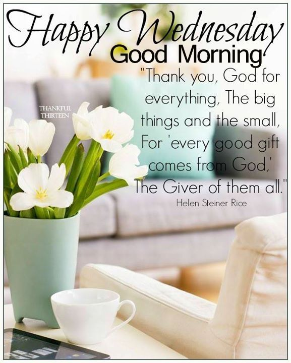 Beautiful Happy Wednesday Good Morning Quote good morning wednesday hump day…