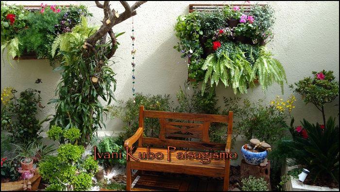 jardim num quintal pequenoComo formar um jardim num espaço pequeno