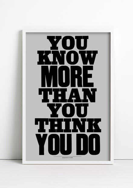 Embrace your intelligence!