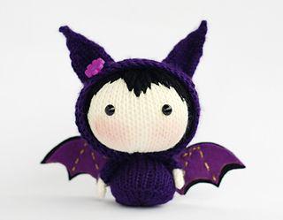 Bat Doll, by Tatyana Korobkova. Pattern ($)