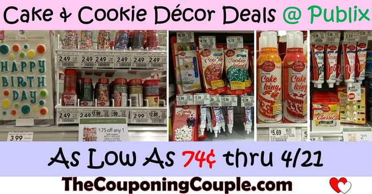 Publix Deals on Betty Crocker Decorating Items with Publix and MF coupon stack!  Sprinkles 74¢, icing as low as 84¢, decorating tips $1.24, +more prices and pictures! Click the link below to get all of the details ► http://www.thecouponingcouple.com/deals-on-betty-crocker-decorating-items-at-publix-w-coupon-stack-0-74/ #Coupons #Couponing #CouponCommunity  Visit us at http://www.thecouponingcouple.com for more great posts!