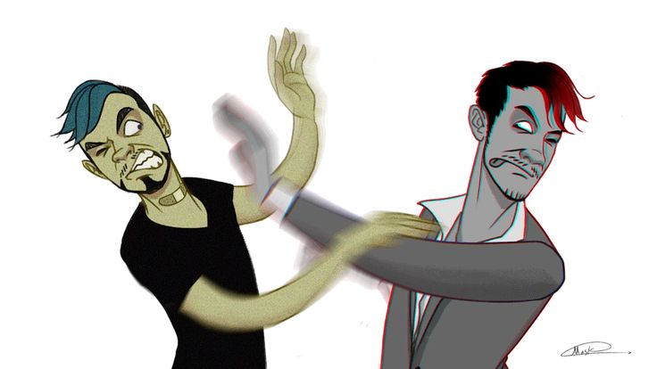Darkiplier versus Antisepticeye in a nutshell Everyone: FIGHT FIGHT FIGHT Me: Stop just Stop....please this is just slapping fight COME ON!!!