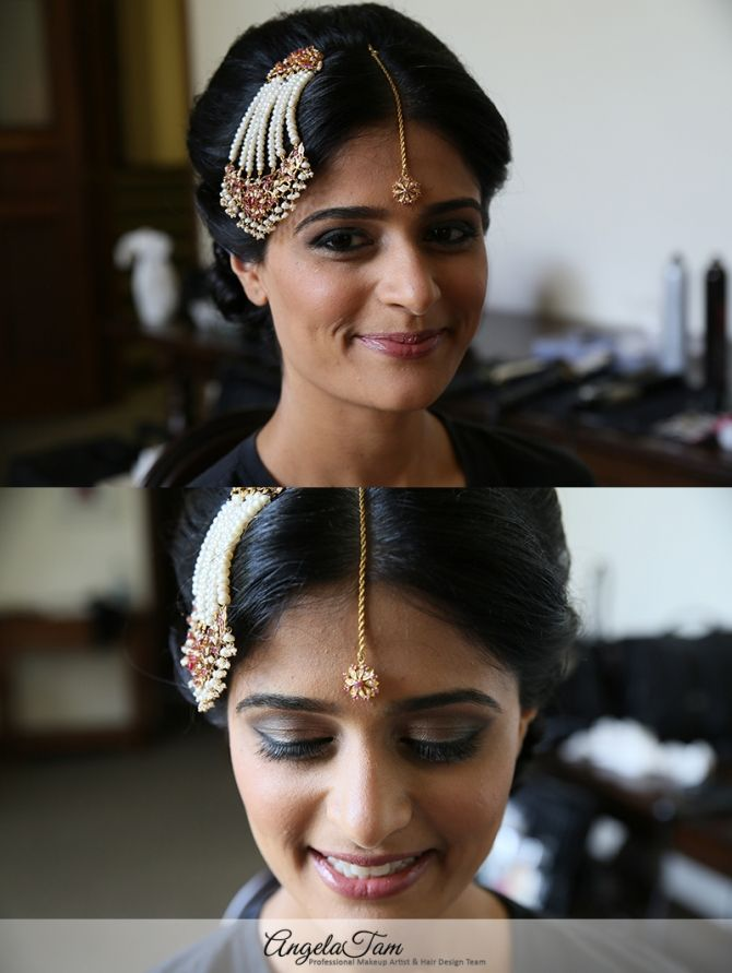 Orange County St Regis Indian Wedding Makeup Artist And Hair Stylist Angela Tam