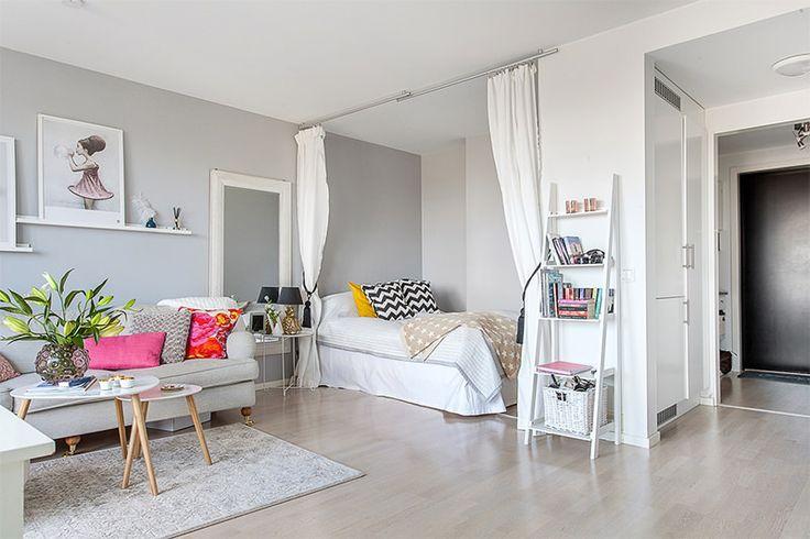 Apartamento cinza com toques coloridos - limaonagua