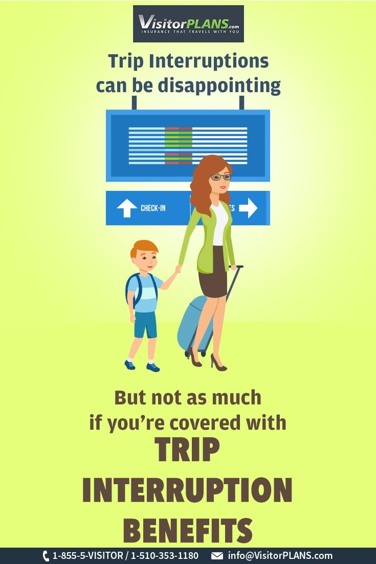 Trip Interruption Is An Amazing Feature Of Visitorinsurance If