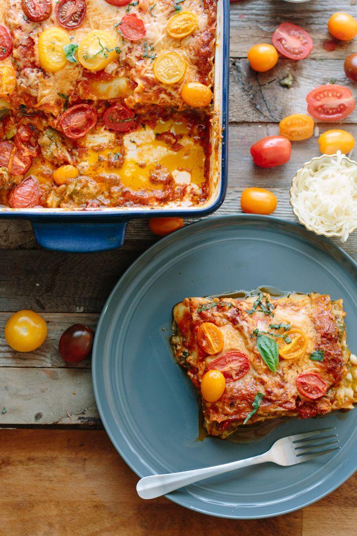 Lasanha vegetariana | http://www.vaicomeroque.net/lasanhavegetariana/