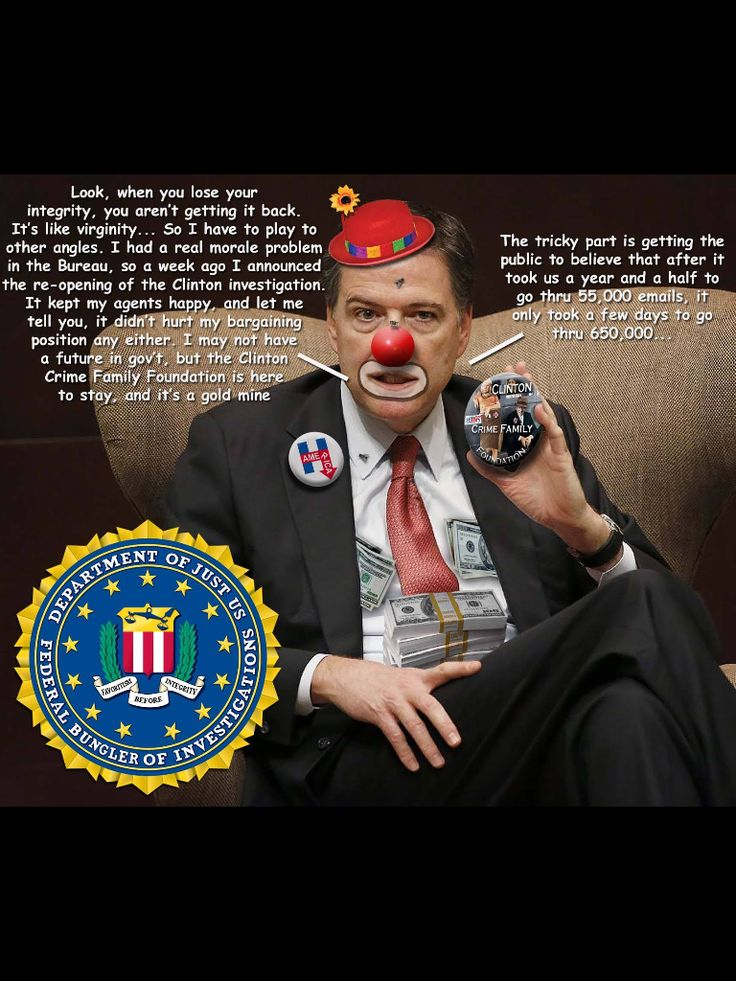 Republican FBI Chief sabotaged Hillary's Campaign in the last week, over absolutely nothing !