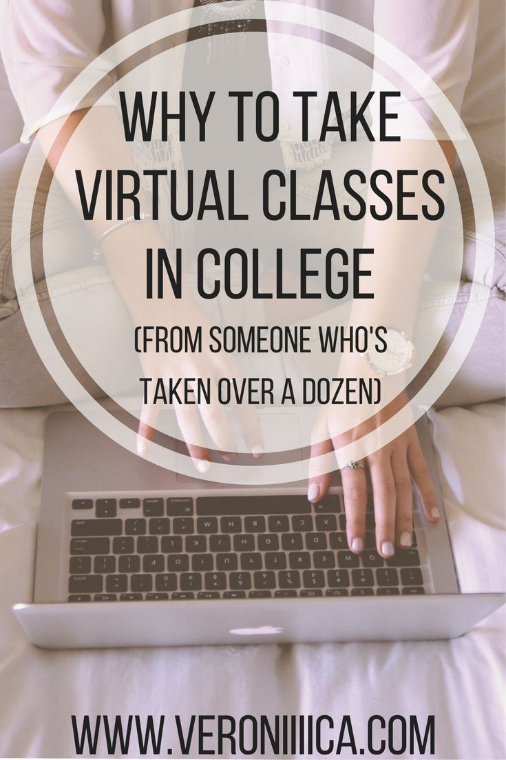 Virtual classes are becoming more and more prevalent in colleges.  Read on to learn more about virtual classes from someone who has taken over a dozen