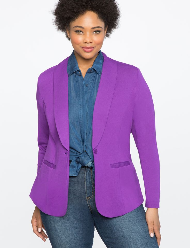 Ali Blazer | Women's Plus Size Coats + Jackets
