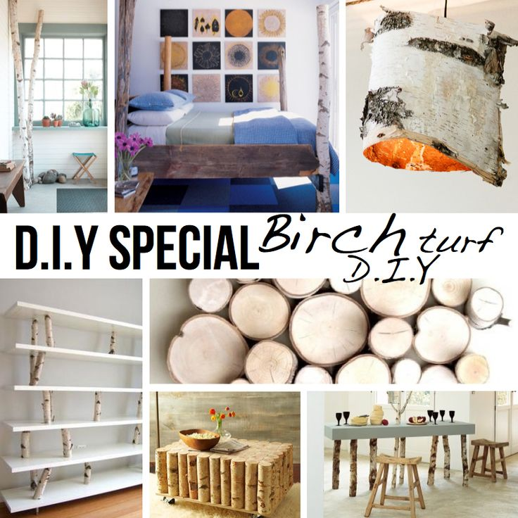 Birch Turf DIY's ~ many cool projects to incorporate nature into your creative spaces!