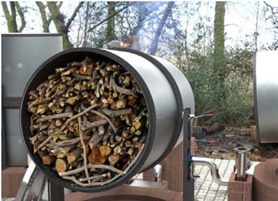 how to make a barrel kiln