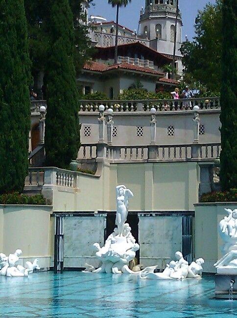 198 best hearst castle images on pinterest california - Hearst castle neptune pool swim auction ...