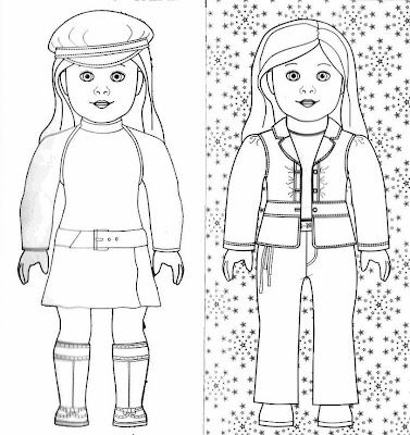 Pin by Deb Kennard on American Girl Coloring pages for