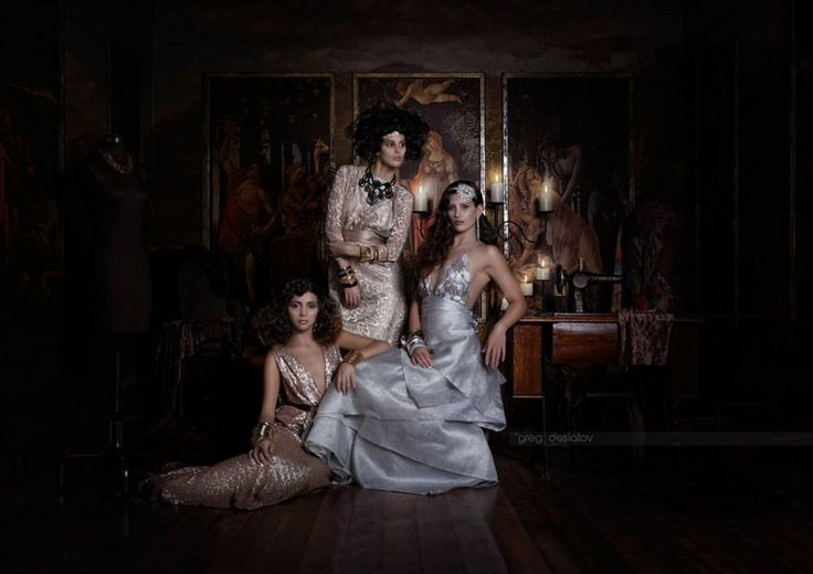 Published in Dark Beauty Magazine Magazine in the US. Thanks to a fabulous team.  Photography: Greg Desiatov  Models: Tori Wood, Babushka Art, Emily Rose Purcelll, Kim Charman. Makeup: Olivia Graham Mua-Spfx Artist  Hair: Hair by Deanne  Designer: Lucy Laurita  Stylist: Ramzy Nawzar Picture Perfect Photo Studio Hire
