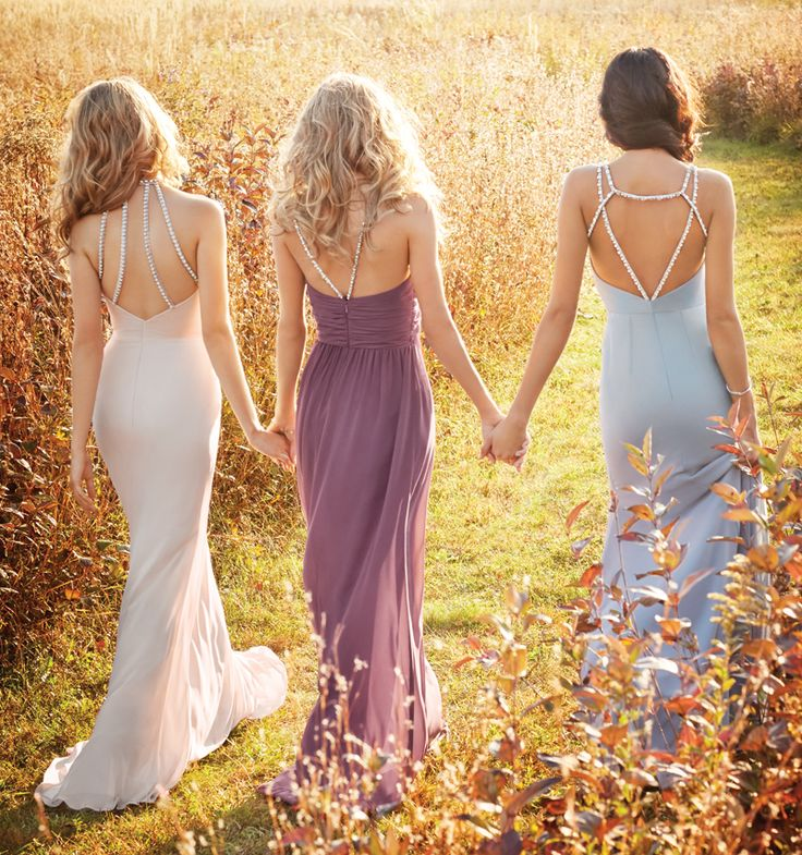 Bridesmaids and Special Occasion Dresses by Hayley Paige Occasions - Style jh5624, jh5625 and jh5626