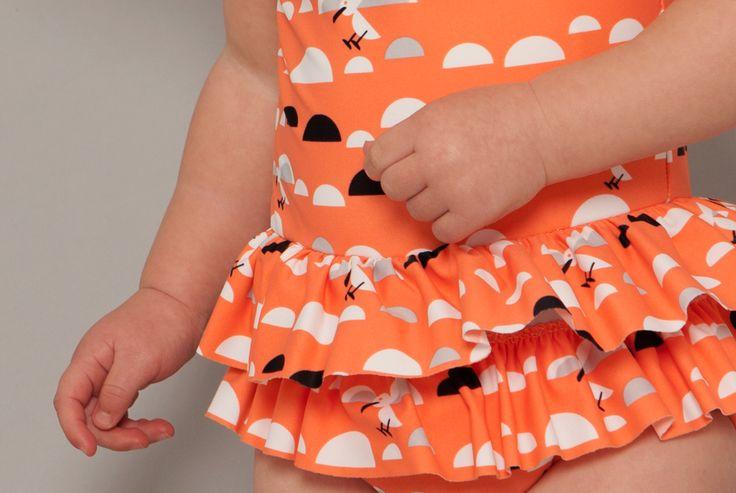 SOOKIbaby | SS'15 | Childrens Fashion | Worn by a Funky Little Monkey | www.sookibaby.com.au | SWIM | LITTLE MISS SEAGULL