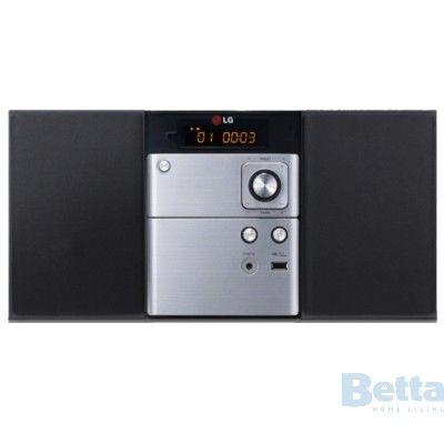 $139 Betta - LG MICRO HI-FI SYSTEM CD / RADIO / BLUETOOTH 10W
