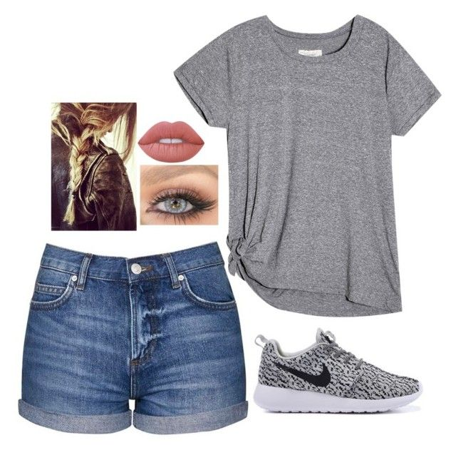 """Casual Summer Days"" by kayladaas on Polyvore featuring Topshop and Lime Crime"
