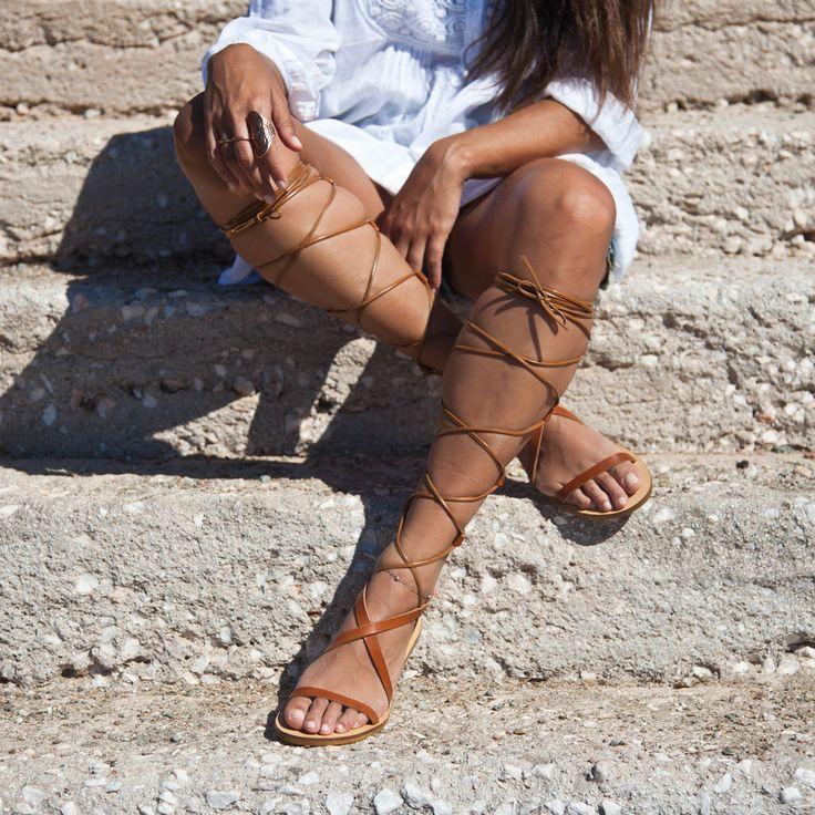 SANTE Summer SALE! #Gladiator #flats #santess15 #SanteMadeinGreece Shop SALES NOW: www.santeshoes.com