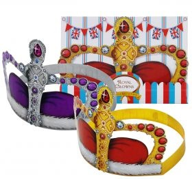 Pack of British Street Party Crowns from MOLLIE & FRED