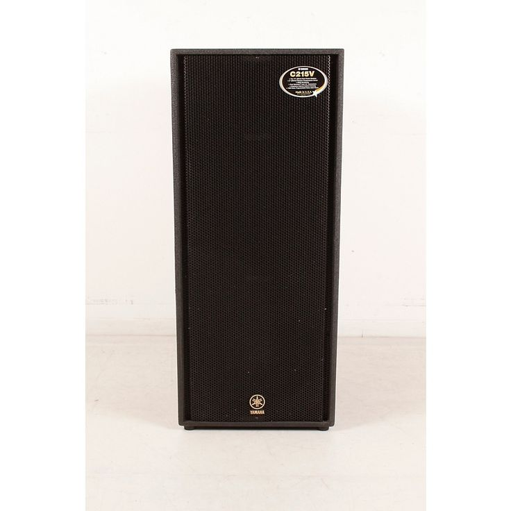 "Yamaha C215V Dual 15"" Club Concert Speaker Cab Regular 888366052853"