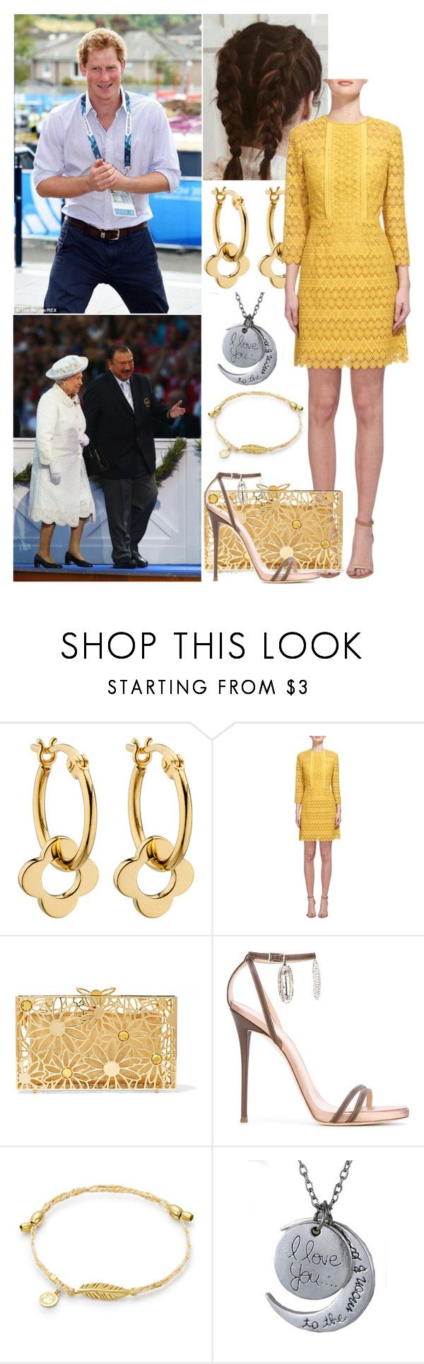 """""""Attending the Commonwealth Games Closing Ceremony"""" by alicewindsor ❤ liked on Polyvore featuring Orla Kiely, Whistles, Charlotte Olympia and Giuseppe Zanotti"""