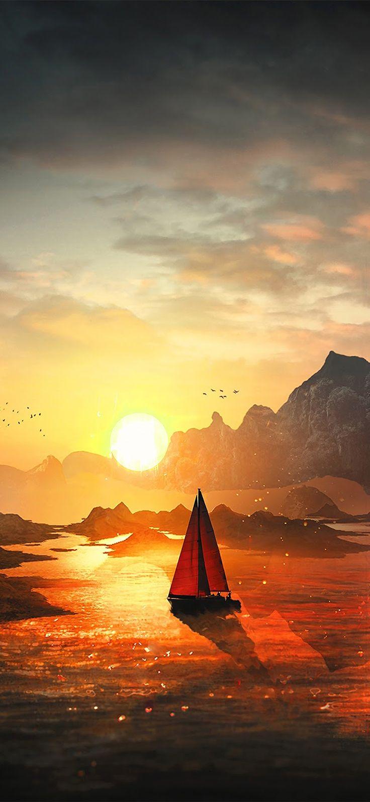 Nice Sunset (iPhone X) 13