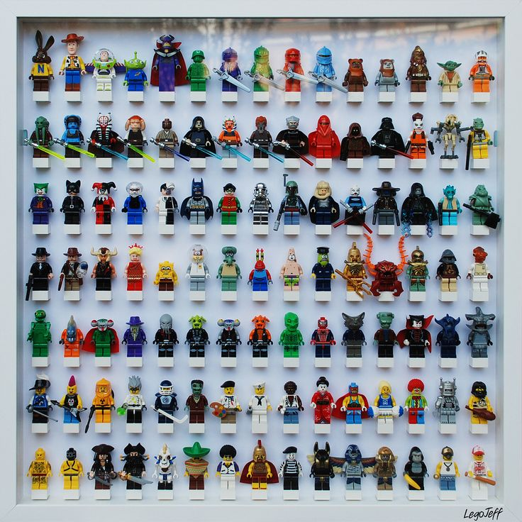 https://flic.kr/p/9Wjsc2 | Lego Frame | Un cadre plein de lego sur un de mes mur, youhouuuuuuu. Il m'en faudrait 12 comme cela pour toute ma collec ;-)  A frame full of lego Minifig on one of my wall. I need 12 of that to present all my collection ;-)