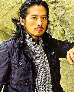 Hiroyuki Sanada- he's so damn hot I almost can't stand it!!!