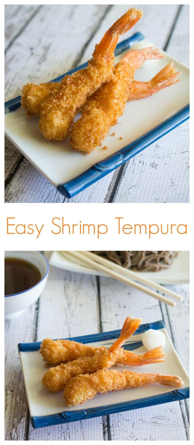 Easy Shrimp Tempura