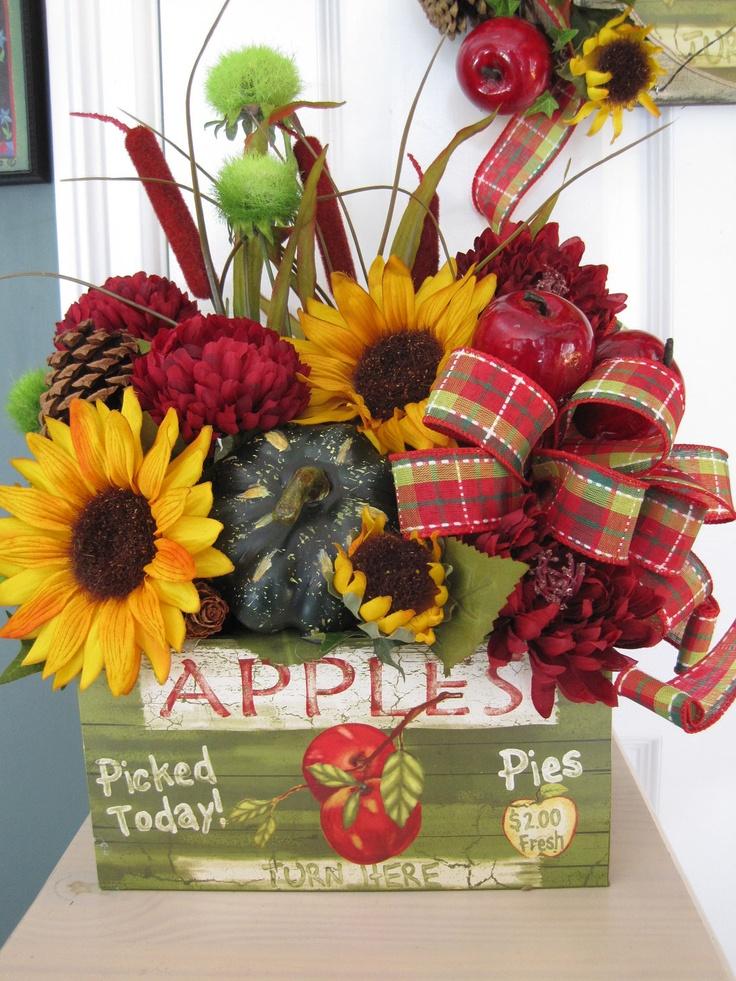 mesmerizing apple kitchen wall decor | 164 best images about flower arrangements on Pinterest ...