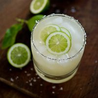 Classic margarita with orange bitters | Via: White on Rice Couple |