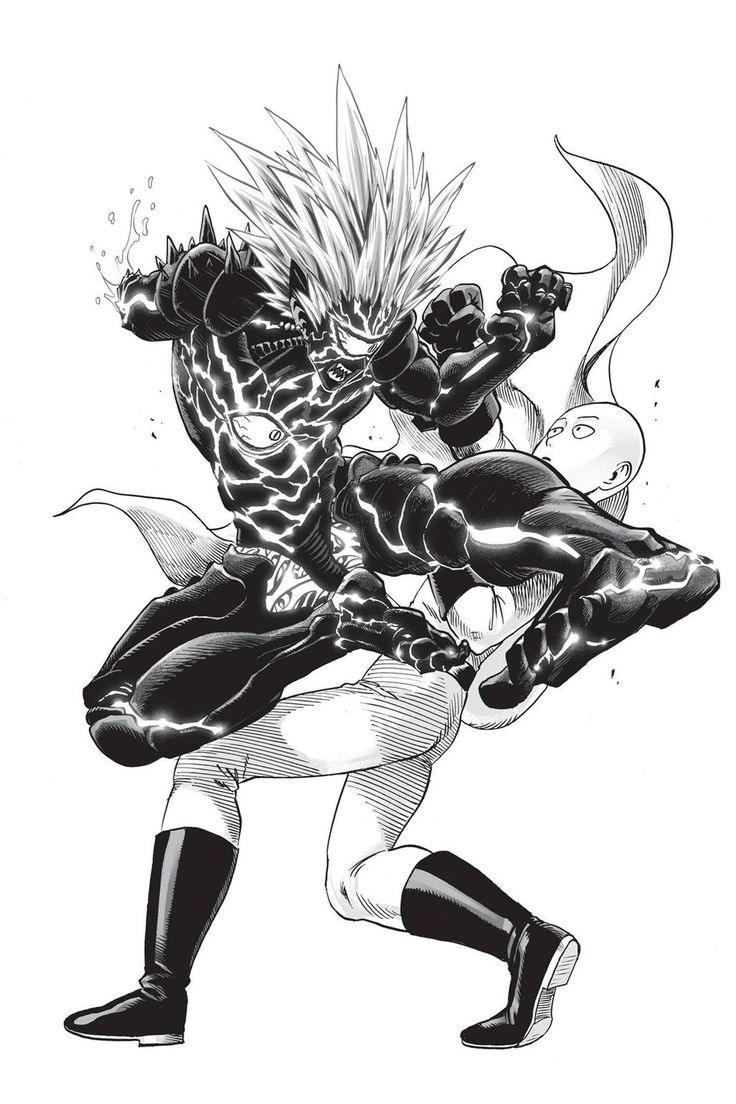 Hero saitama vs Lord boros