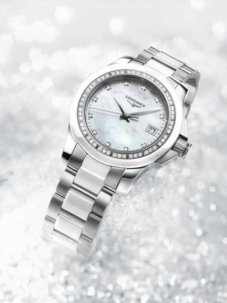 Longines #Ladies Diamond Conquest (54 diamonds)