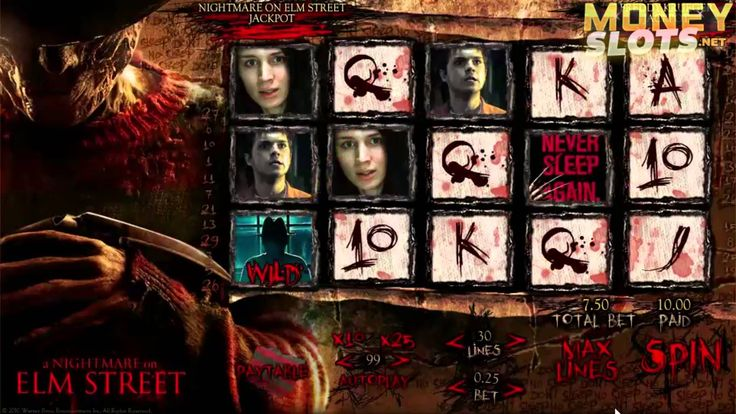 Here's a video review of A Nightmare on Elm Street slots from 888's Random Logic software.  Be sure to check out the full A Nightmare on Elm Street slot review at http://www.moneyslots.net/888/nightmare-elm-street-slots/  For more information on the best slots casinos, slots bonuses and slots game reviews, please visit:  MoneySlots.net http://www.moneyslots.net/ #1 Online Slots Guide