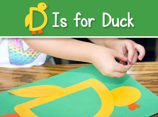 how to make easy duck puppet