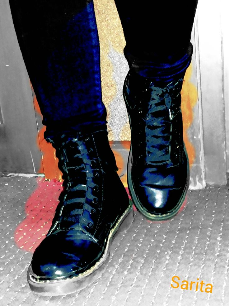 Currently in love with boyish boots