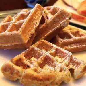 Lemon Poppyseed Yogurt Waffles | Favorite Recipes | Pinterest