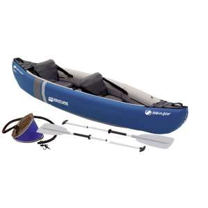 Sevylor Adventure Inflatable Canoe Kit The Adventure Inflatable Canoe Kit from Sevylor is a fun classic inflatable canoe that is suitable for 2 adults and comes with 2 paddles pump and a carry bag meaning that you can take it straight out  http://www.MightGet.com/january-2017-11/sevylor-adventure-inflatable-canoe-kit.asp