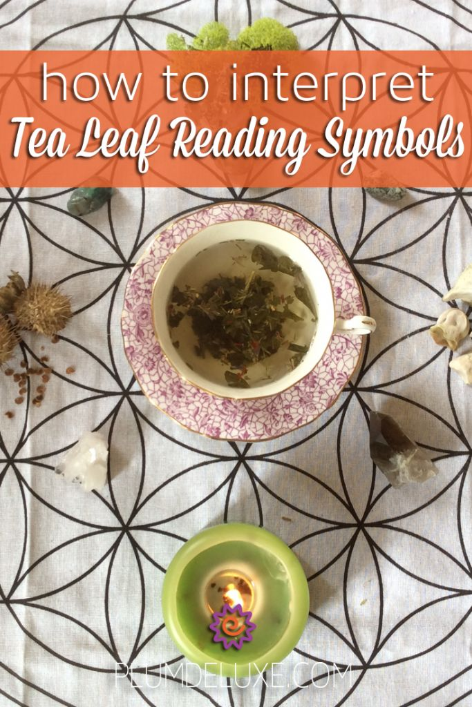 A tea leaf reader shares the basics of reading tea leaves and how to interpret tea leaf symbols.