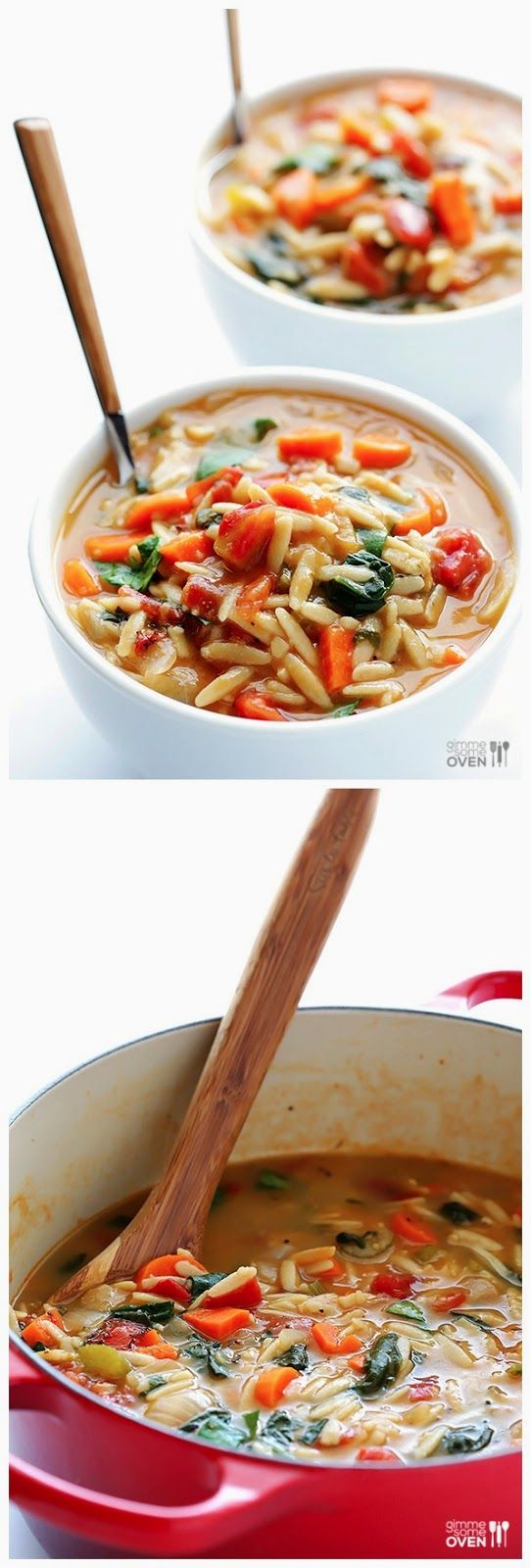 Italian Orzo Spinach Soup | Easy and Quick Recipes