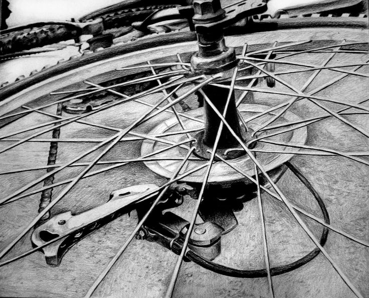 Felicia - RISD bike drawing….