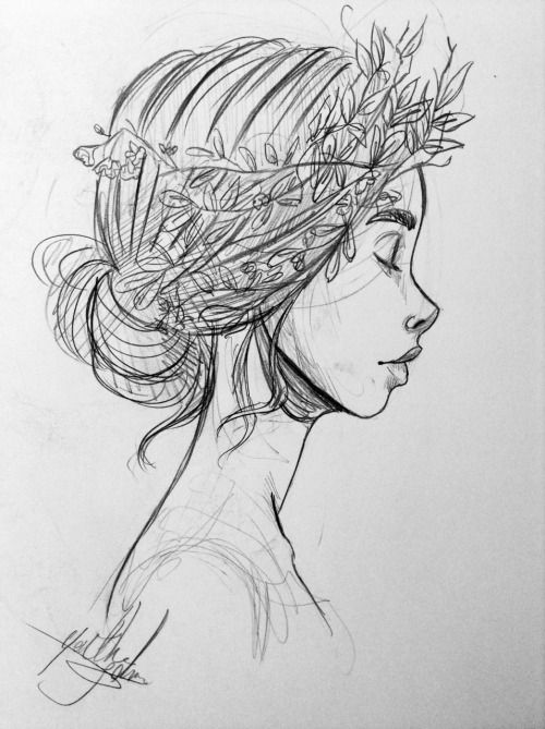 Yenthe Joline Art • Some sketches with my new mechanical pencil.