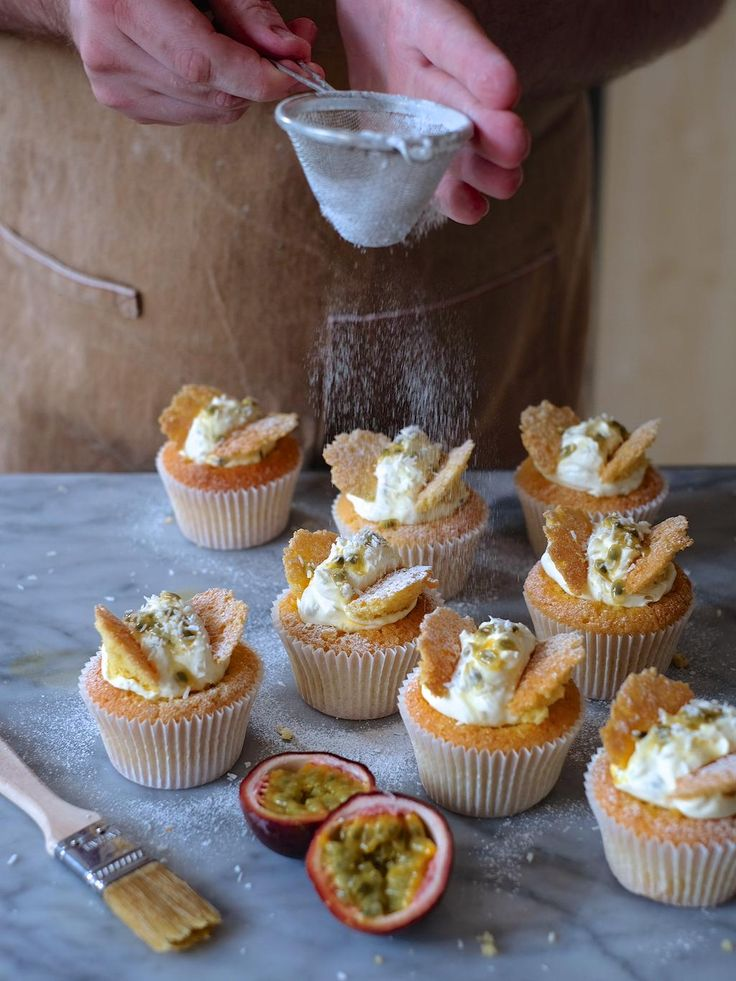 Fancy some simple retro baking? Check out my passion fruit butterfly cakes for @bakewithstork http://bakewithstork.co/ButterflySponge
