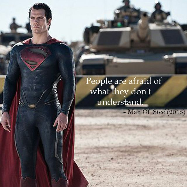 This Max Wisdom Wednesday we choose a quote from the movie Man of Steel starring Henry Cavill as Superman. Henry can also be spotted in Batman vs. Superman: Dawn of Justice this Friday.