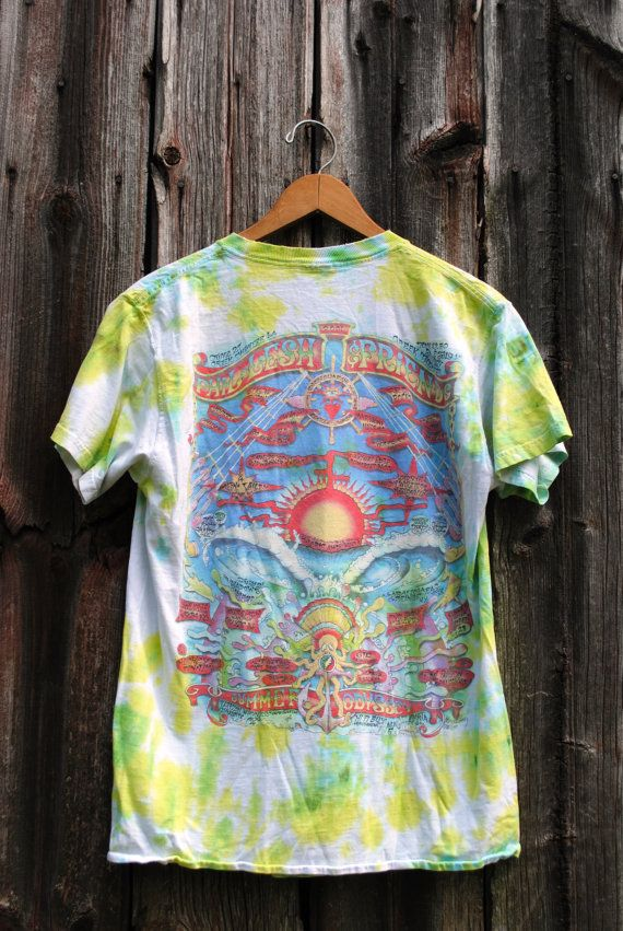 Vintage Tie Dye Phil Lesh and Friends Summer by 2cutevintage