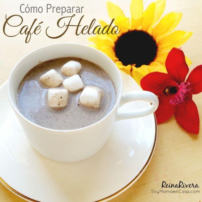 Cómo Preparar #Café Helado #recetas #recetasfaciles